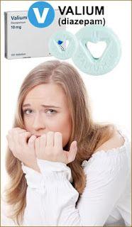 Valium Diazepam - farmaco per curare i pazienti con disturbi d'ansia