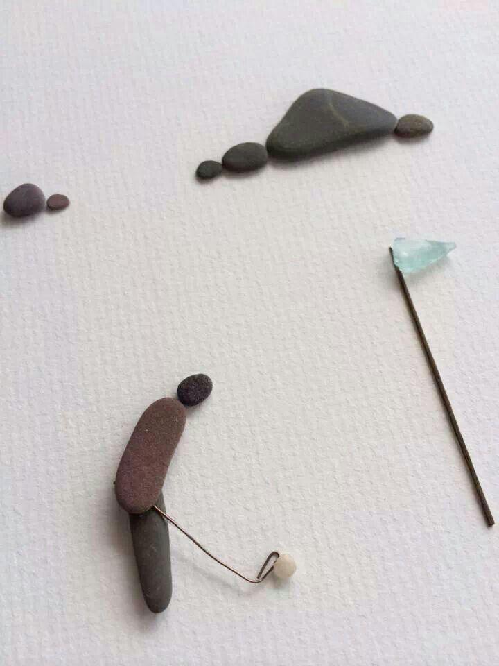 M s de 1000 im genes sobre cuadros con piedras en pinterest - Cuadros con piedras ...