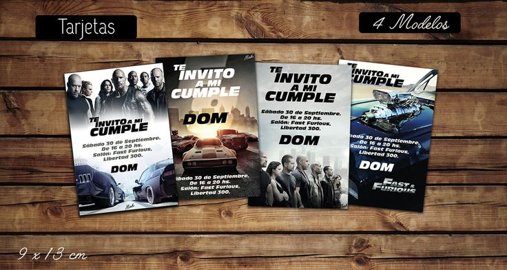 #invitaciones, #tarjetas #souvenir, pasa #sorbetes (pajitas)  #kitcumple #kitimprimible  #cumple #fiesta #ideas  #colores #infantil #kit #cumple #personalizado #furious8 #fast