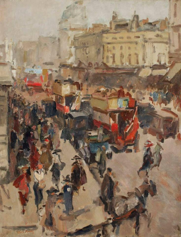 Isaac Israels (Amsterdam 1865-1934 The Hague)  Regent Street, London