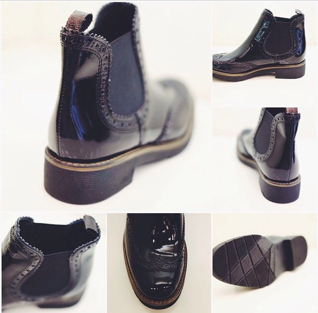 Oxford style: the cyprus boot by Tosca Blu Shoes