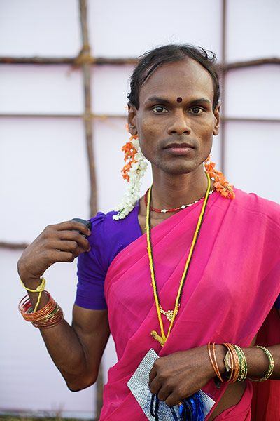 """""""Hijras, who can be eunuchs, intersex or transgender, have been part of South Asia's culture for thousands of years."""" - Photo by Tom Pietrasik"""