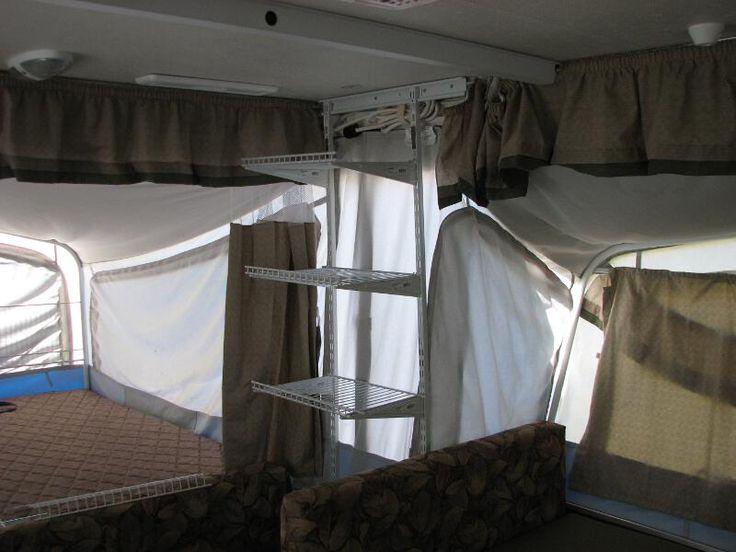 Pop Up Shelving : Pop up camping ideas camper shelving mods http