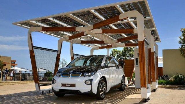 BMW propõe garagem capaz de recarregar veículos elétricos e híbridos