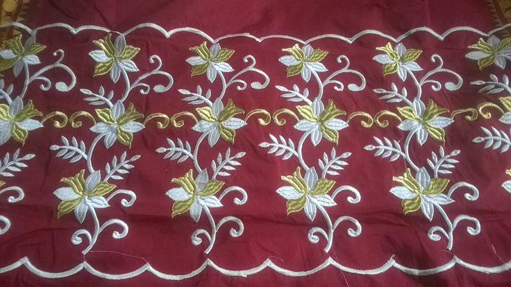 Fome Embroidery design  shubhajitdalal@gmail.com