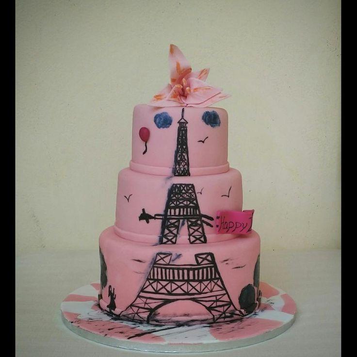 Eiffel towel - Cake by nef_cake_deco