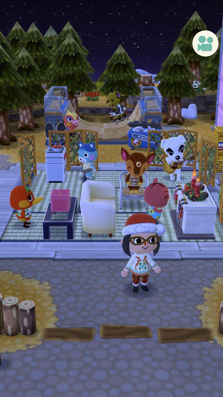Mejores 13 Im Genes De Animal Crossing Pocket Camp En Pinterest  # Muebles Festivos Animal Crossing