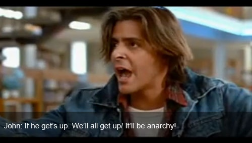 One of my favorite quotes from The Breakfast Club