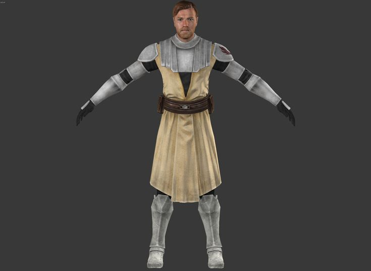 Star Wars:The Force Unleashed 2 -Obi-Wan Kenobi CW by elonir on DeviantArt
