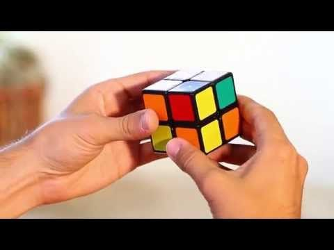 How to Solve a 2x2x2 Rubik's Cube: (Easiest Tutorial in High Quality) - YouTube