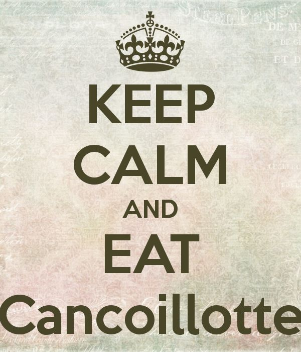 KEEP CALM AND EAT Cancoillotte