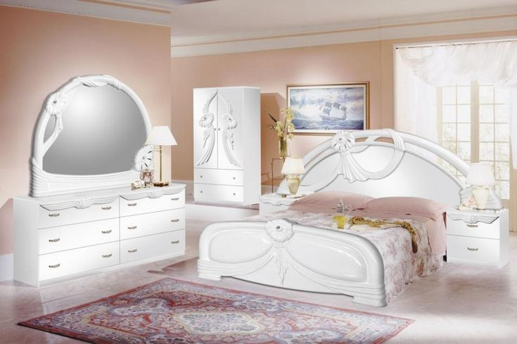 5 Stylish Bedroom Designs For Your Comfort  - Bedroom is the last room in your household that you might think about decorating or re-arranging because no one else sees it except you, and even you... -  white-furniture-bedroom-ideas-bedroom-design-10 .