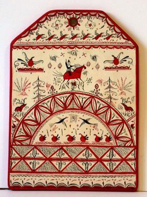 Mezen symbolic ornaments