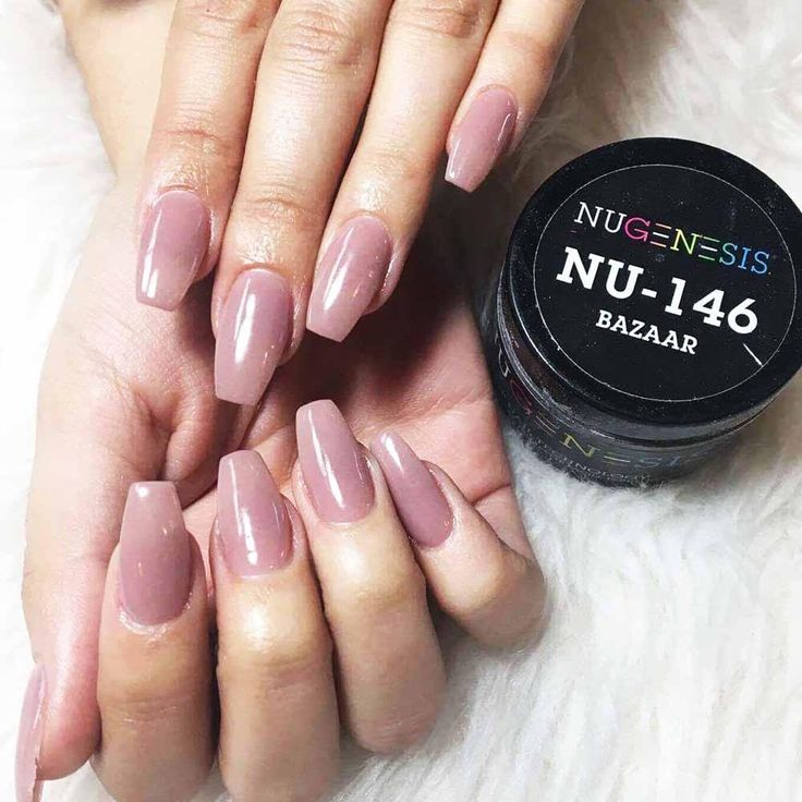 NuGenesis Nails Dip Powder NU 146 Bazaar