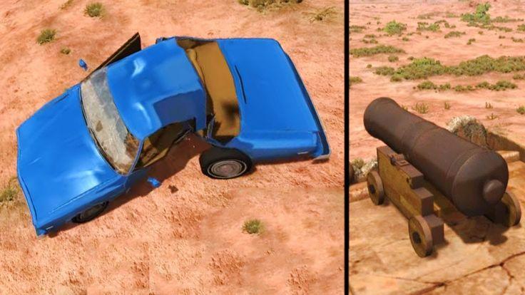 BeamNG Drive walkthrough gameplay PC - Cars crash test