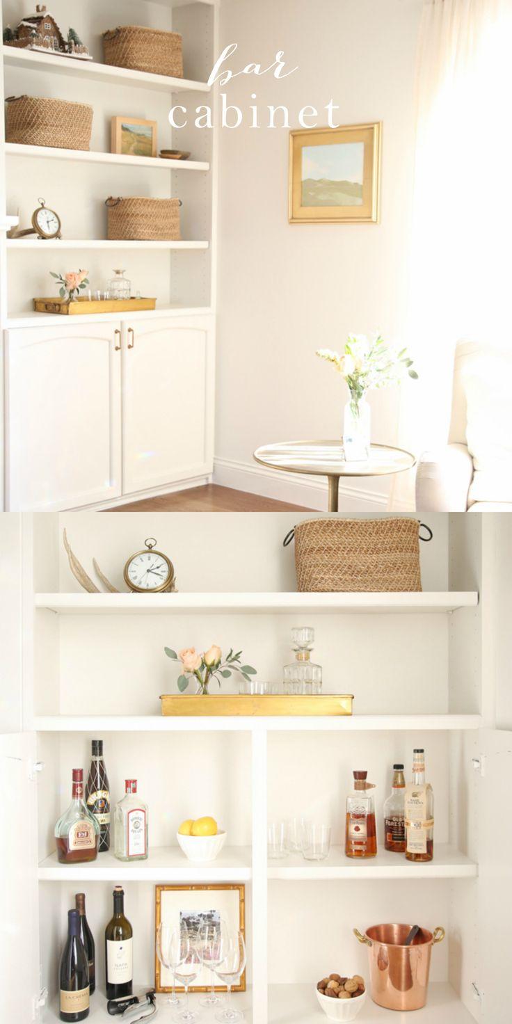 1000 ideas about home bar cabinet on pinterest bar. Black Bedroom Furniture Sets. Home Design Ideas