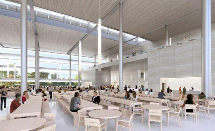 Gallery: New renders of life inside Apple's spaceship campus | The Verge