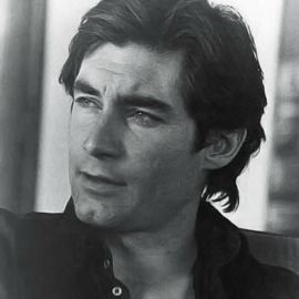Timothy Dalton (by far the best James Bond, Rochester, and Heathcliff)