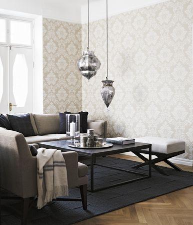 Samlar inspiration för kommande projekt i hemmet. Snygg kollektion från  Boråstapeter.