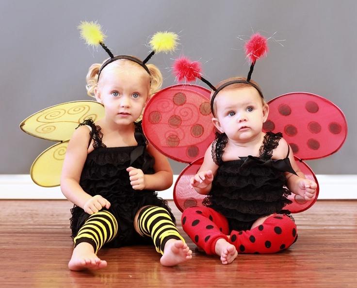 Bee Stripe and ladybug baby Leg Warmers and costumes