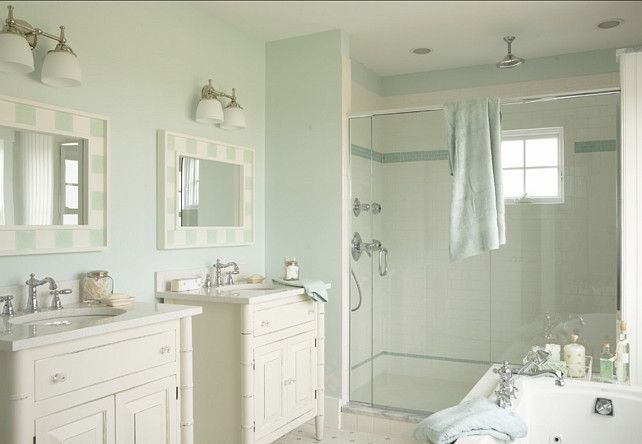 Bathroom Paint Color Ideas Martha Stewart Araucana Blue