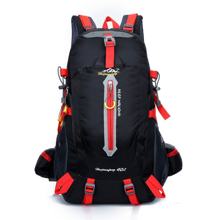 <Click Image to Buy> 40L Outdoor portable camping mountaineering bags hiking travel rucksack unisex backpack Travel bag sports backpack **  #SportBags