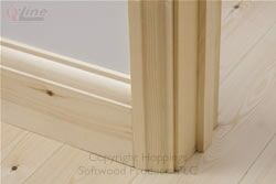 57mm Ovolo architrave and 144mm skirting
