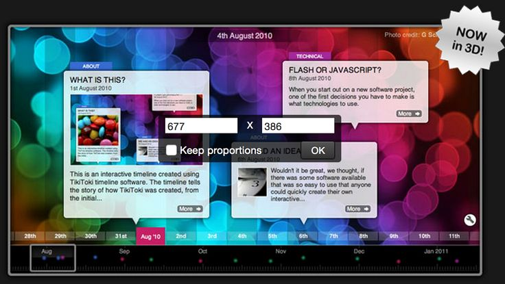 A Great Web Tool for Creating and Viewing Educational Timelines in 3D ~ Educational Technology and Mobile Learning