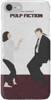Pulp Fiction 2 iPhone 7 Cases