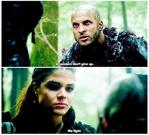 Octavia Blake and Lincoln || The 100 season 2 episode 12 - Rubicon || Marie Avgeropoulos and Ricky Whittle || Linctavia