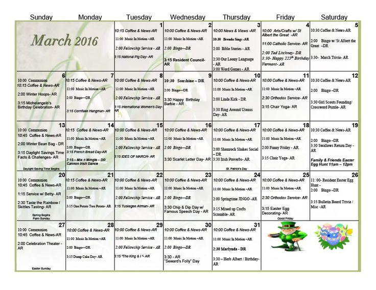 Calendar Ideas For Nursing Homes : Best southern hills skilled nursing rehab center
