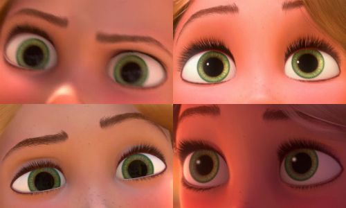 Arie Ll Rapunzel S Eyes Appreciation Post Tangled