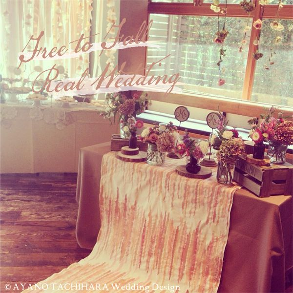 WeddingDecor Wedding__produced by AYANO TACHIHARA Wedding Design