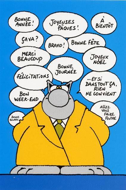 Le Chat (de Philippe Geluck)  Le site officiel de Philippe Geluck: http://www.geluck.com/