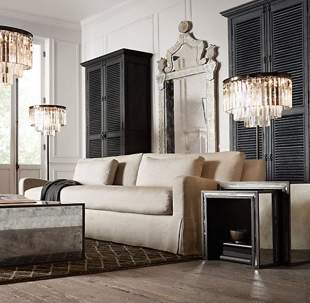 mirrored side table living room 9 best living room images on family rooms 22804