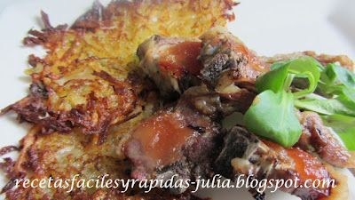 Cordero con membrillo y pastelito de patata - Fácil - 30 Min.