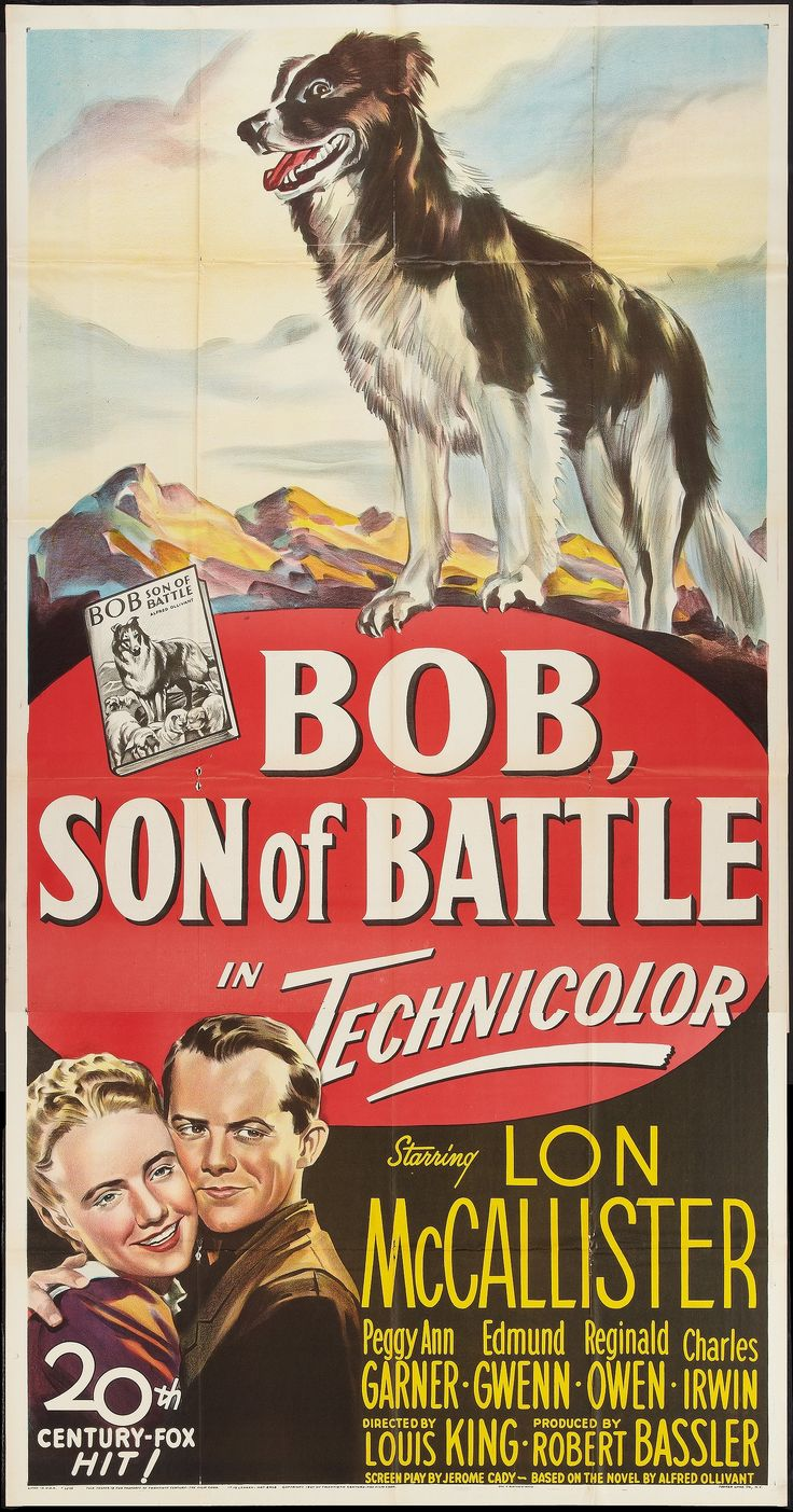 "Thunder in the Valley (1947)  aka ""Bob, Son of Battle"" -  Stars: Lon McCallister, Peggy Ann Garner, Edmund Gwenn, Reginald Owen ~ Director: Louis King"