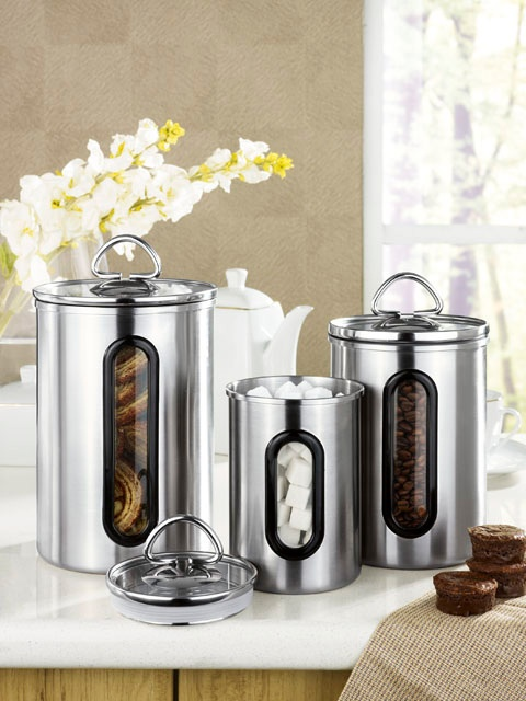 HomeChoice Fortress canister set