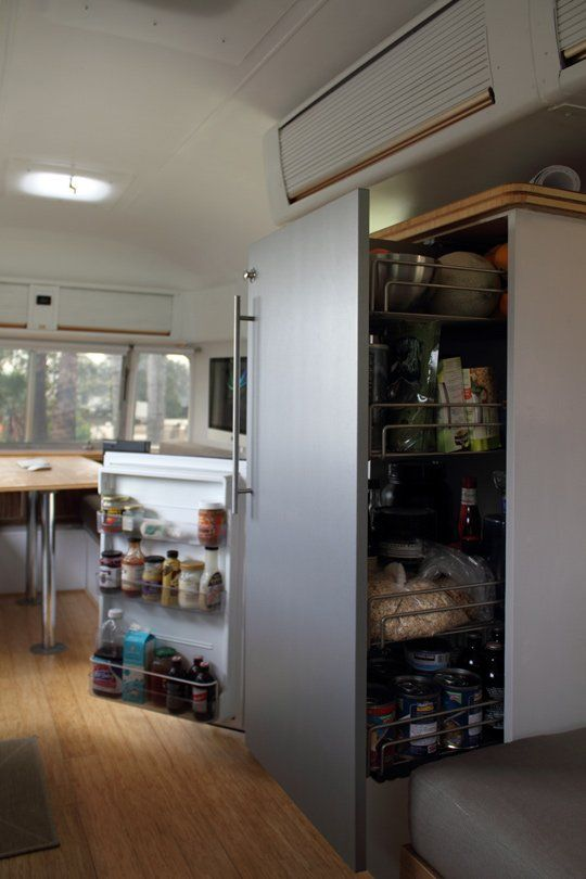 Living large in a restored vintage Airstream trailer. Here's how Matthew Hofmann achieved his Airstream dream!