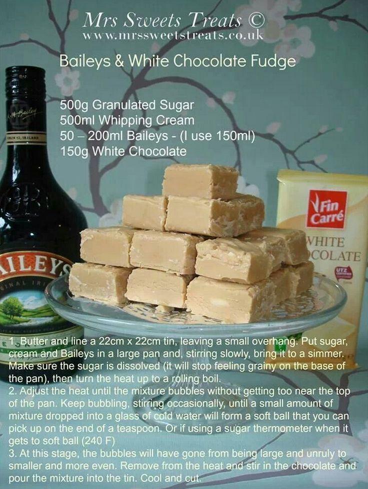 Baileys Fudge - Mrs Sweets Treats