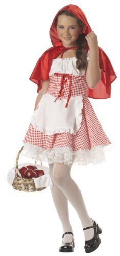 California Costume Girls  Tween-Little Red Riding Hood California Costumes. $20.98