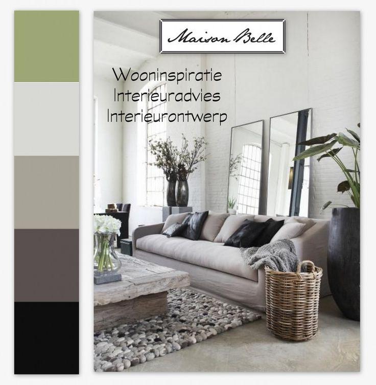 17 beste idee n over kleurenpalet grijs op pinterest for Grijs wit interieur
