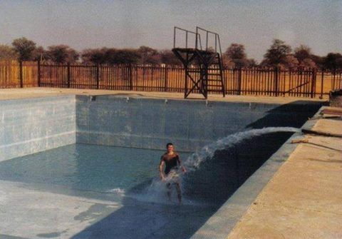 Swimming pool at 61 Meg Omuthiya