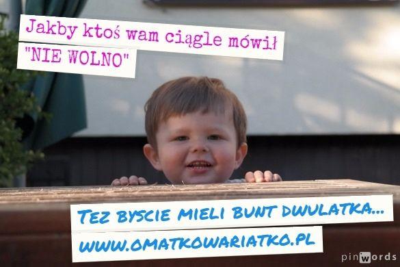 #dwulatek #dziecko #bunt