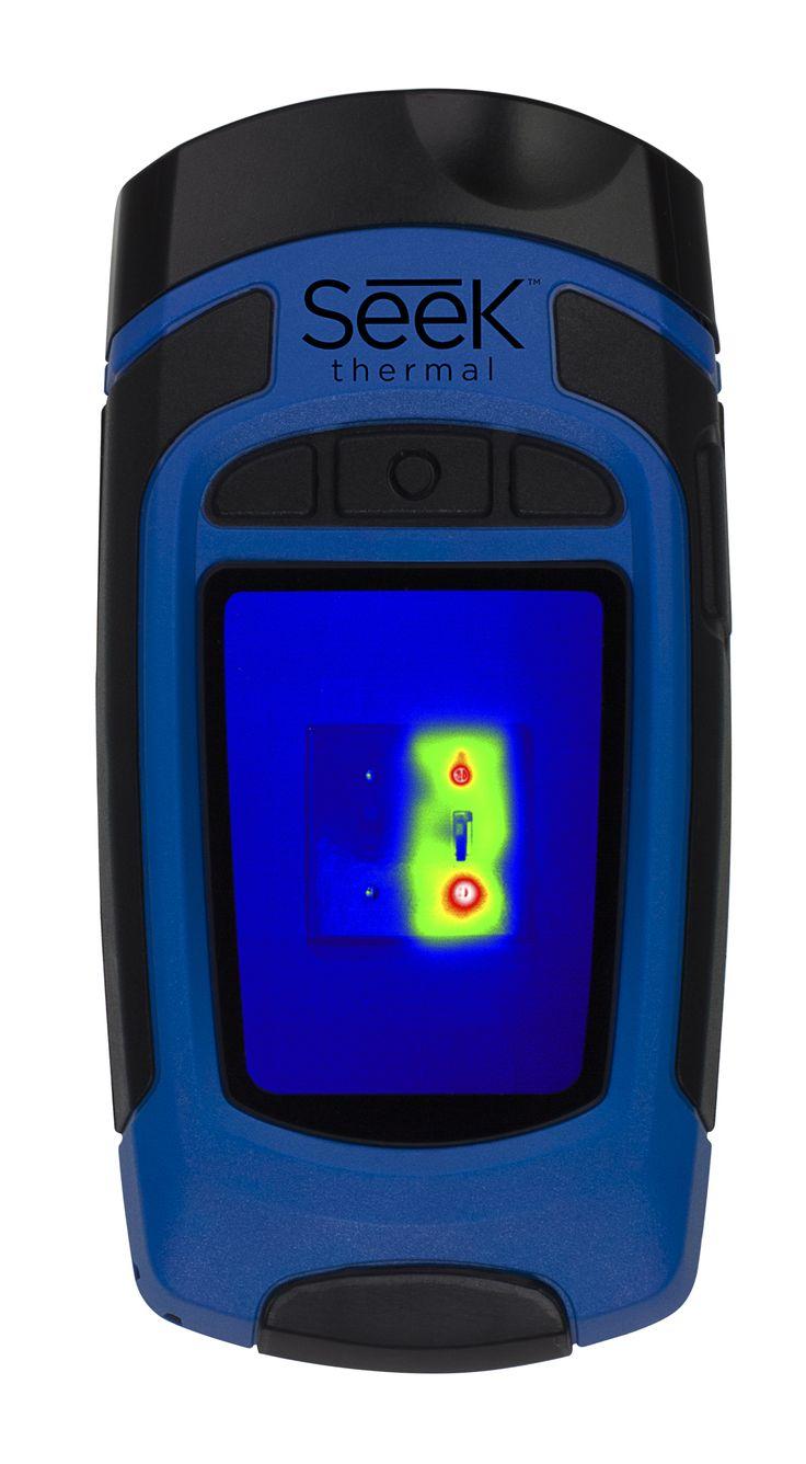 Seek Thermal Reveal - Wärmebildkamera Design für die herausfordernden Situationen des Alltags  Reveal funktioniert bei völliger Dunkelheit, am hellichten Tag und bei schlechten Sichtverhältnissen.   Auf Knopfdruck werden JPEG Bilder aufgenommen und auf eine MicroSD-Karte gespeichert. Der Filter-Knopf ermöglicht das Darstellen in verschiedenen Farbvarianten. Die Temparatur des Objekts kann optional auf dem Display angezeigt werden. ...