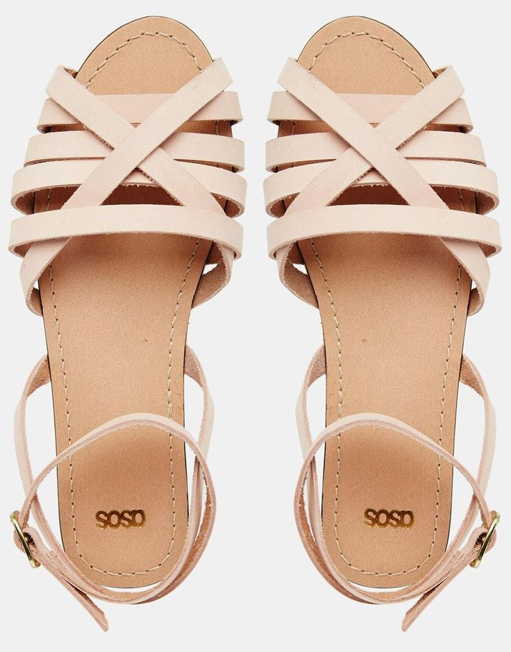 Image 3 of ASOS FIFI Woven Leather Sandals