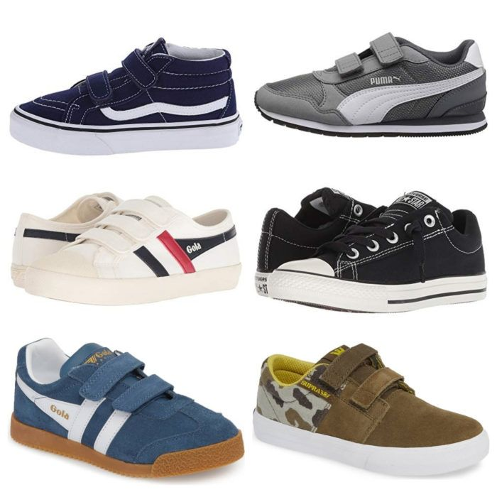 youth boys slip on shoes
