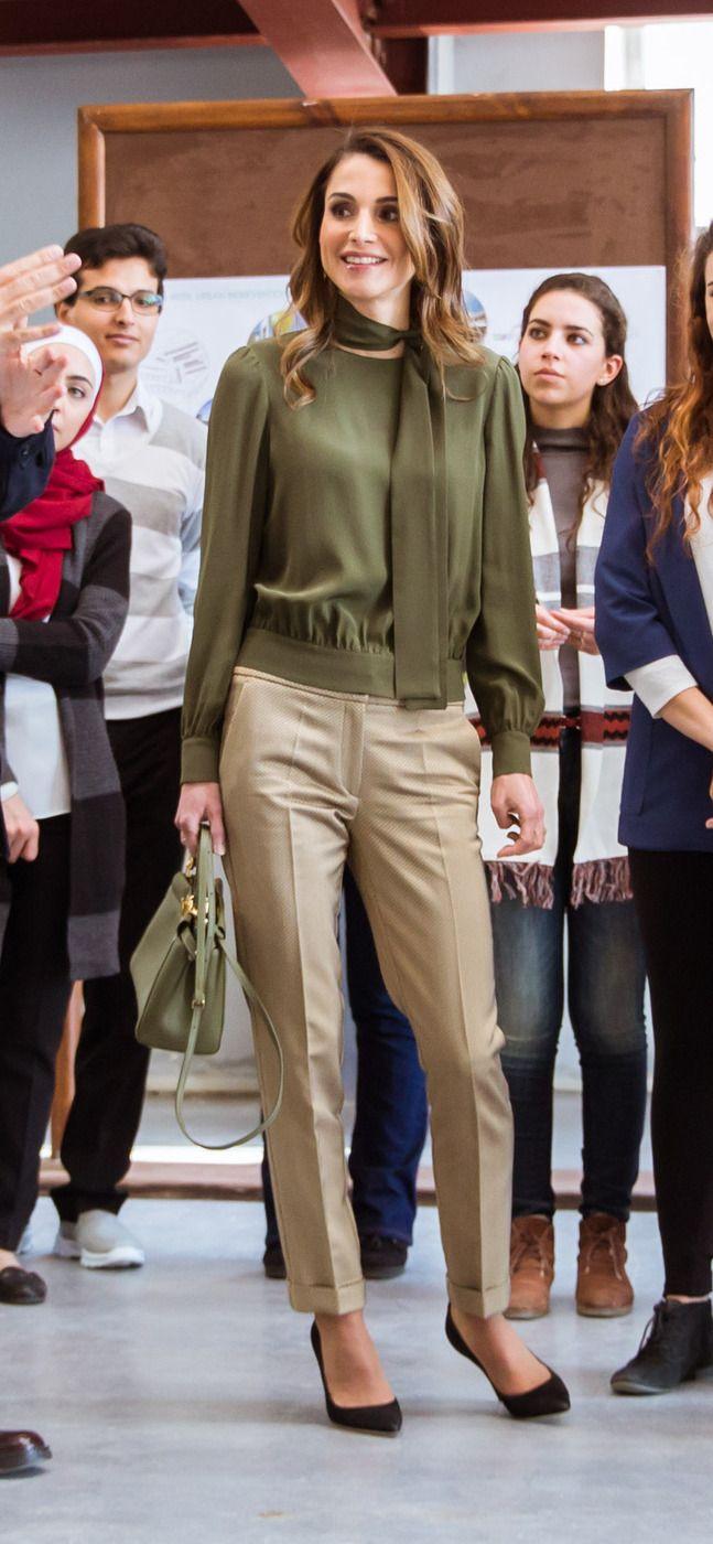 Queen Rania Fashion 158 best queen ...