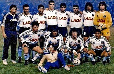 EQUIPOS DE FÚTBOL: COLO COLO Campeón de la Copa Libertadores 1991