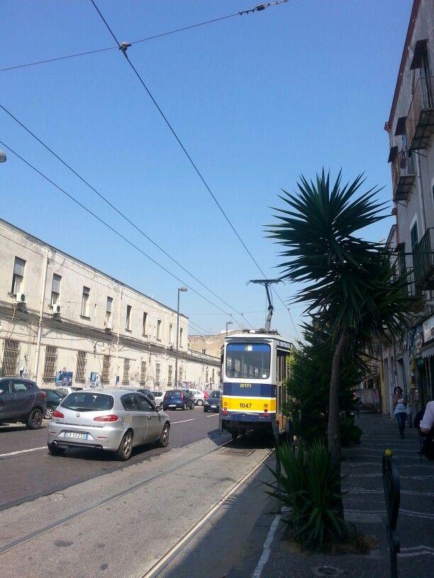 Tram in San Giovanni (Naples)